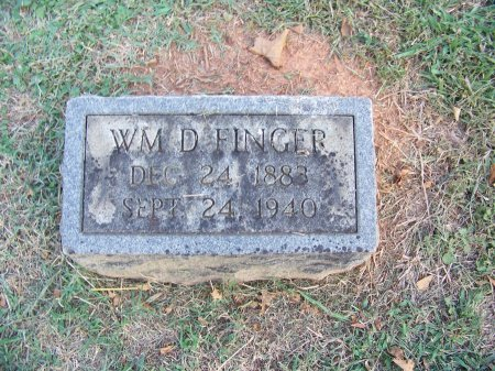 FINGER, WILLIAM D. - Mecklenburg County, North Carolina | WILLIAM D. FINGER - North Carolina Gravestone Photos