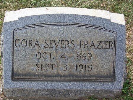 FRAZIER, CORA - Mecklenburg County, North Carolina | CORA FRAZIER - North Carolina Gravestone Photos
