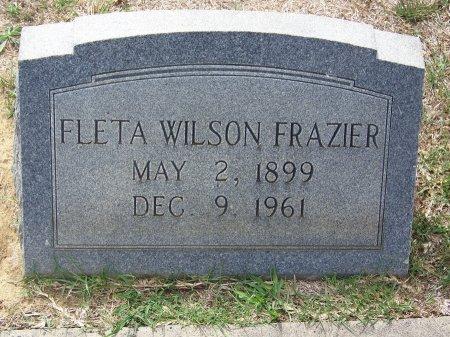 FRAZIER, FLETA - Mecklenburg County, North Carolina   FLETA FRAZIER - North Carolina Gravestone Photos