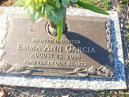 GARCIA, EMMA - Mecklenburg County, North Carolina   EMMA GARCIA - North Carolina Gravestone Photos