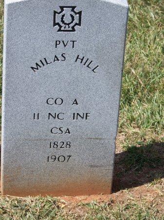 HILL (VETERAN CSA), MILAS - Mecklenburg County, North Carolina | MILAS HILL (VETERAN CSA) - North Carolina Gravestone Photos