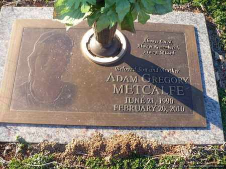METCALFE, ADAM - Mecklenburg County, North Carolina | ADAM METCALFE - North Carolina Gravestone Photos