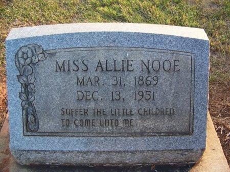 NOOE, ALLIE - Mecklenburg County, North Carolina | ALLIE NOOE - North Carolina Gravestone Photos