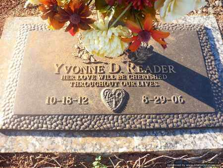 READER, YVONNE - Mecklenburg County, North Carolina | YVONNE READER - North Carolina Gravestone Photos