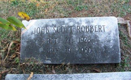 ROBBERT, JOHN SCOTT - Mecklenburg County, North Carolina | JOHN SCOTT ROBBERT - North Carolina Gravestone Photos
