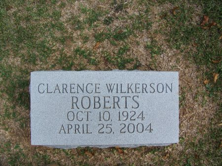 ROBERTS, CLARENCE WILKERSON - Mecklenburg County, North Carolina | CLARENCE WILKERSON ROBERTS - North Carolina Gravestone Photos