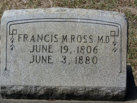 ROSS, DR., FRANCIS M. - Mecklenburg County, North Carolina | FRANCIS M. ROSS, DR. - North Carolina Gravestone Photos