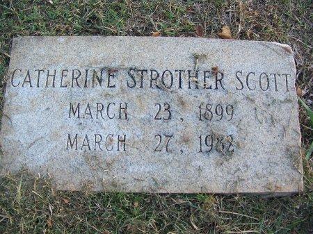 STROTHER SCOTT, CATHERINE - Mecklenburg County, North Carolina | CATHERINE STROTHER SCOTT - North Carolina Gravestone Photos
