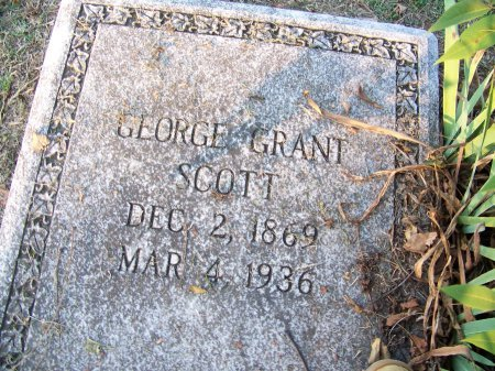 SCOTT, GEORGE GRANT - Mecklenburg County, North Carolina | GEORGE GRANT SCOTT - North Carolina Gravestone Photos