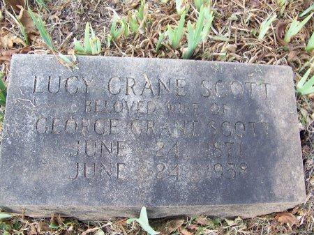 CRANE SCOTT, LUCY - Mecklenburg County, North Carolina | LUCY CRANE SCOTT - North Carolina Gravestone Photos