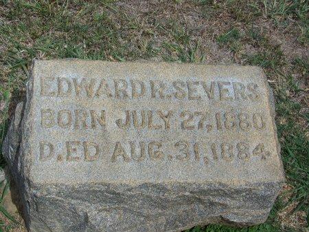 SEVERS, EDWARD R. - Mecklenburg County, North Carolina | EDWARD R. SEVERS - North Carolina Gravestone Photos