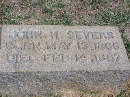 SEVERS, JOHN H. - Mecklenburg County, North Carolina   JOHN H. SEVERS - North Carolina Gravestone Photos