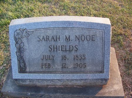 SHIELDS, SARAH M. - Mecklenburg County, North Carolina | SARAH M. SHIELDS - North Carolina Gravestone Photos