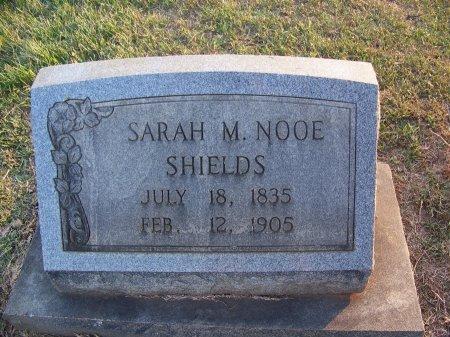 NOOE SHIELDS, SARAH M. - Mecklenburg County, North Carolina   SARAH M. NOOE SHIELDS - North Carolina Gravestone Photos