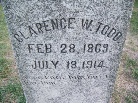 TODD, CLARENCE W. - Mecklenburg County, North Carolina | CLARENCE W. TODD - North Carolina Gravestone Photos