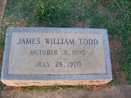 TODD, JAMES WILLIAM - Mecklenburg County, North Carolina | JAMES WILLIAM TODD - North Carolina Gravestone Photos