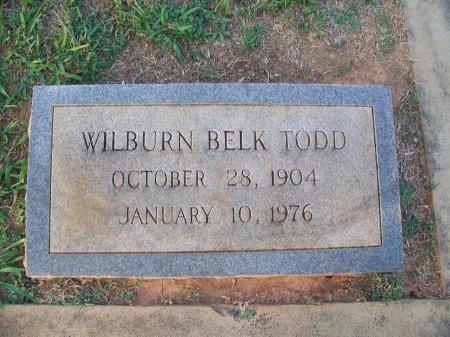 TODD, WILBURN - Mecklenburg County, North Carolina   WILBURN TODD - North Carolina Gravestone Photos