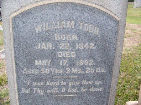 TODD, WILLIAM - Mecklenburg County, North Carolina | WILLIAM TODD - North Carolina Gravestone Photos