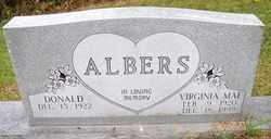 ALBERS, VIRGINIA MAE - Mitchell County, North Carolina | VIRGINIA MAE ALBERS - North Carolina Gravestone Photos