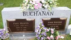 BUCHANAN, JOSIE - Mitchell County, North Carolina | JOSIE BUCHANAN - North Carolina Gravestone Photos