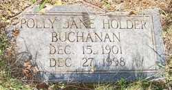 BUCHANAN, POLLY JANE - Mitchell County, North Carolina | POLLY JANE BUCHANAN - North Carolina Gravestone Photos