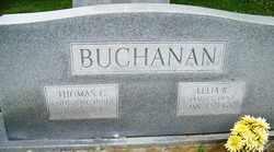 BUCHANAN, LELIA - Mitchell County, North Carolina | LELIA BUCHANAN - North Carolina Gravestone Photos