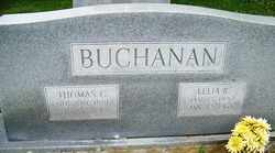 RANDOLPH BUCHANAN, LELIA - Mitchell County, North Carolina | LELIA RANDOLPH BUCHANAN - North Carolina Gravestone Photos