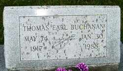 BUCHANAN, THOMAS EARL - Mitchell County, North Carolina | THOMAS EARL BUCHANAN - North Carolina Gravestone Photos