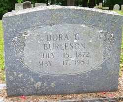 BURLESON, DORA G. - Mitchell County, North Carolina | DORA G. BURLESON - North Carolina Gravestone Photos