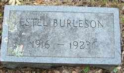 BURLESON, ESTEL - Mitchell County, North Carolina   ESTEL BURLESON - North Carolina Gravestone Photos