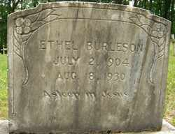 BURLESON, ETHEL - Mitchell County, North Carolina | ETHEL BURLESON - North Carolina Gravestone Photos