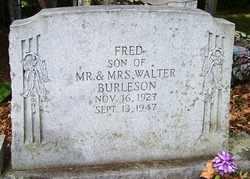 BURLESON, FRED - Mitchell County, North Carolina | FRED BURLESON - North Carolina Gravestone Photos