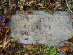 BURLESON, G. DEWEY - Mitchell County, North Carolina | G. DEWEY BURLESON - North Carolina Gravestone Photos