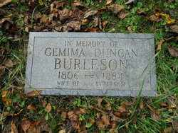 BURLESON, GEMIMA - Mitchell County, North Carolina | GEMIMA BURLESON - North Carolina Gravestone Photos