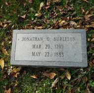 BURLESON, JONATHAN O. - Mitchell County, North Carolina | JONATHAN O. BURLESON - North Carolina Gravestone Photos