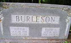 BURLESON, WALTER - Mitchell County, North Carolina | WALTER BURLESON - North Carolina Gravestone Photos