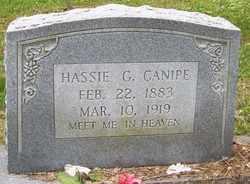 CANIPE, HASSIE G. - Mitchell County, North Carolina | HASSIE G. CANIPE - North Carolina Gravestone Photos