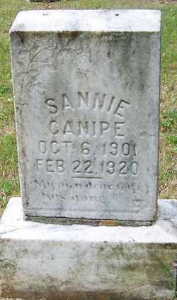 "CANIPE, SANTA ""SANNIE"" - Mitchell County, North Carolina   SANTA ""SANNIE"" CANIPE - North Carolina Gravestone Photos"