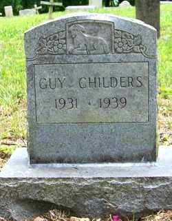 CHILDERS, GUY - Mitchell County, North Carolina | GUY CHILDERS - North Carolina Gravestone Photos