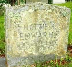 EDWARDS, HETTIE B. - Mitchell County, North Carolina | HETTIE B. EDWARDS - North Carolina Gravestone Photos