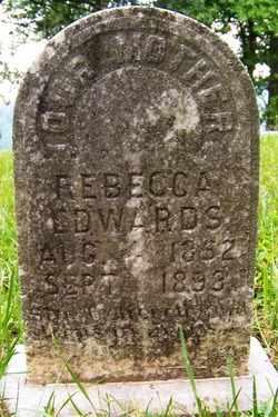 EDWARDS, REBECCA - Mitchell County, North Carolina | REBECCA EDWARDS - North Carolina Gravestone Photos