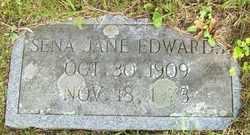EDWARDS, SENA JANE - Mitchell County, North Carolina | SENA JANE EDWARDS - North Carolina Gravestone Photos