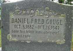 GOUGE, DANIEL FRED - Mitchell County, North Carolina | DANIEL FRED GOUGE - North Carolina Gravestone Photos