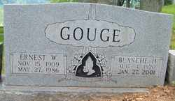 GOUGE, ERNEST W. - Mitchell County, North Carolina | ERNEST W. GOUGE - North Carolina Gravestone Photos