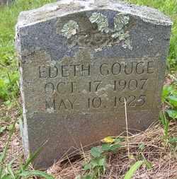 GOUGE, EDITH - Mitchell County, North Carolina   EDITH GOUGE - North Carolina Gravestone Photos
