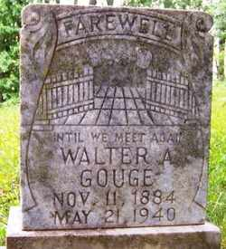 GOUGE, WALTER A. - Mitchell County, North Carolina   WALTER A. GOUGE - North Carolina Gravestone Photos