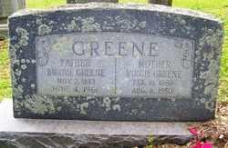 GREENE, BURNIE - Mitchell County, North Carolina | BURNIE GREENE - North Carolina Gravestone Photos