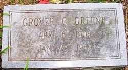 GREENE, GROVER C. - Mitchell County, North Carolina   GROVER C. GREENE - North Carolina Gravestone Photos
