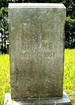 GREENE, HARRIETT - Mitchell County, North Carolina | HARRIETT GREENE - North Carolina Gravestone Photos