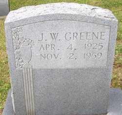 GREENE, JACK W. - Mitchell County, North Carolina | JACK W. GREENE - North Carolina Gravestone Photos